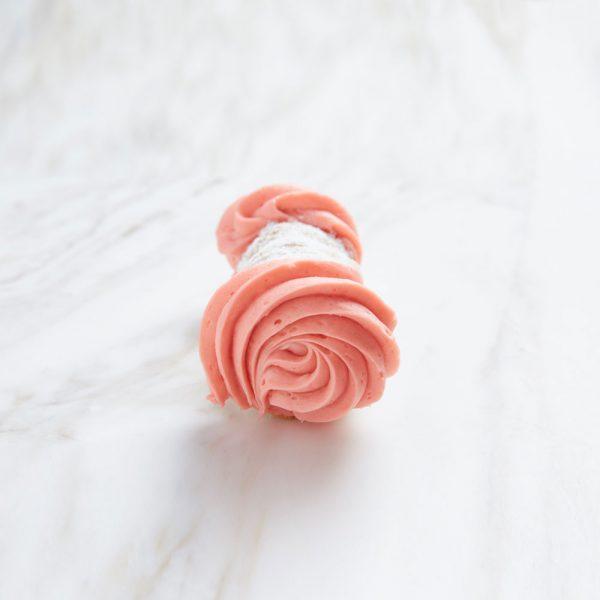 raspberry cannoli